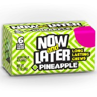 NOW & LATER CHEWY CANDY PINAPPLE