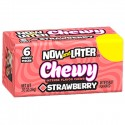 NOW & LATER CHEWY CARAMELOS FRESA