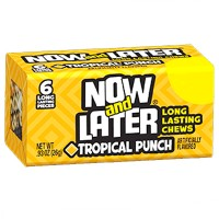 NOW & LATER CHEWY CANDY TROPICAL PUNCH