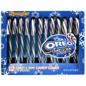 CLEARANCE - SPANGLER CANDY CANES OREO COOKIES & CREME (12)