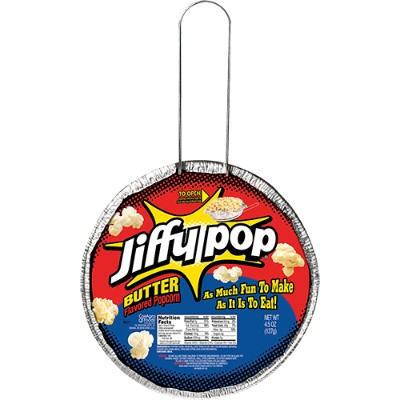 JIFFY POP BUTTER POPCORN PAN