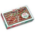 CANDY CANES PEPPERMINT RED GREEN WHITE MINI (40)