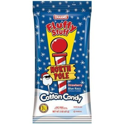 CHARMS FLUFFY STUFF COTTON CANDY NORTH POLE
