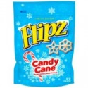 FLIPZ CANDY CANE PEPPERMINT COATED PRETZELS