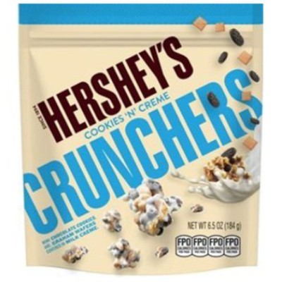 HERSHEY'S COOKIES N CREME CRUNCHERS POUCH