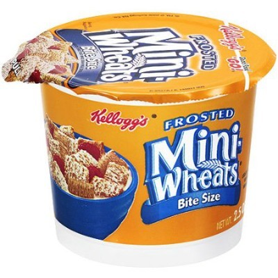 KELLOGG'S CEREAL FROSTED MINI WHEATS CUP
