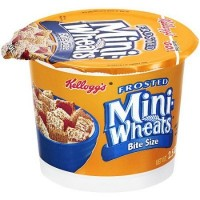 CLEARANCE - KELLOGG'S CEREAL FROSTED MINI WHEATS CUP