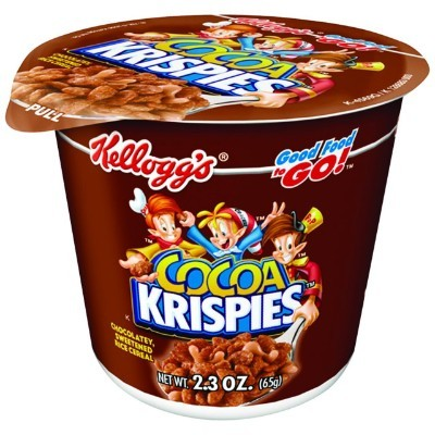 KELLOGG'S CEREAL COCOA KRISPIES CUP