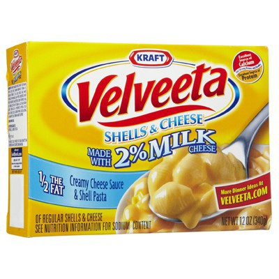 KRAFT VELVEETA SHELLS AND CHEESE