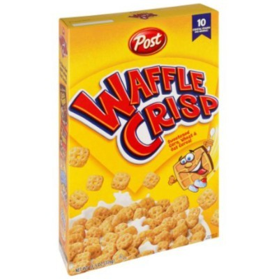 CLEARANCE - POST WAFFLE CRISP CEREAL