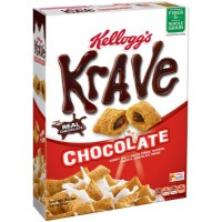 KELLOGG'S CEREALES KRAVE CHOCOLATE