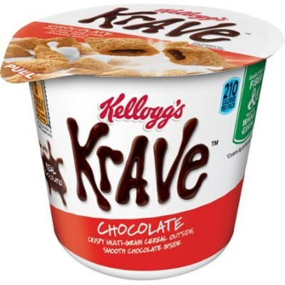 KELLOGG'S KRAVE CEREAL CUP