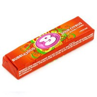 BUBBLICIOUS CHEWING GUMS CITRON ACIDULÉ