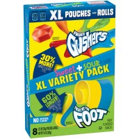 FRUIT GUSHERS CARAMELLE SWEET + SOUR MIX