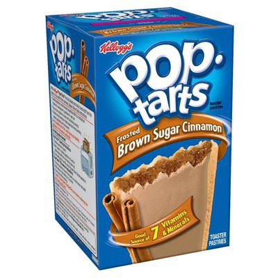 KELLOGG'S POP TARTS FROSTED BROWN SUGAR CINNAMON