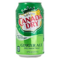 CANADA DRY GINGER ALE SODA AU GINGEMBRE