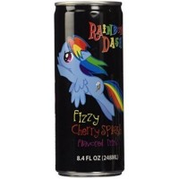 MY LITTLE PONY RAINBOW DASH FIZZY CHERRY SPLASH FLAVORED DRINK
