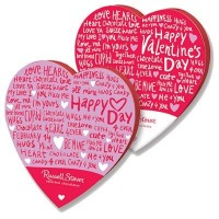 CLEARANCE - RUSSELL STOVER ASSORTED CHOCOLATES HEART BOX