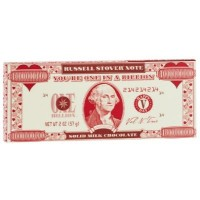 RUSSELL STOVER TABLETA DE CHOCOLATE BILLETE