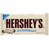 HERSHEY'S BAR GIANT COOKIES' N CREME