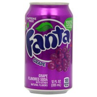 FANTA GRAPE SODA - Sabor Uva