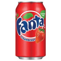 FANTA STRAWBERRY SODA FRAISE