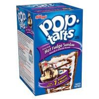 KELLOGG'S POP TARTS FROSTED HOT FUDGE SUNDAE