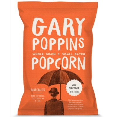 GARY POPPINS MILK CHOCOLATE CARAMEL POP CORN