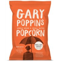 CLEARANCE - GARY POPPINS POP CORN WHITE AND DARK CHOCOLATE CARAMEL