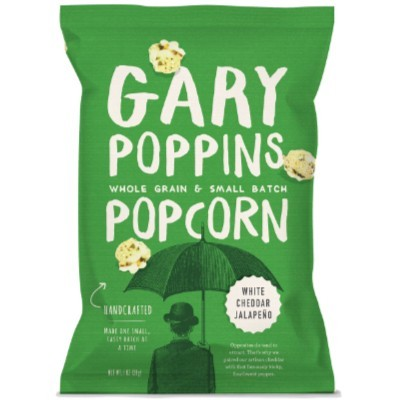 CLEARANCE - GARY POPPINS POP CORN WHITE CHEDDAR JALAPENO