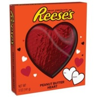 REESE'S PEANUT BUTTER HEART XL