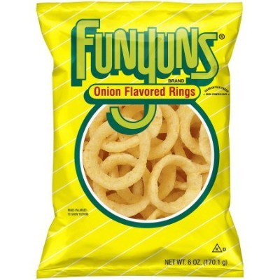 FUNYUNS ONION RINGS SNACK (LARGE)