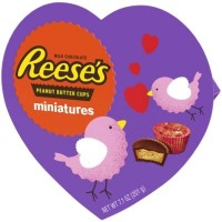 CLEARANCE - REESE'S PEANUT BUTTER CUP MINIATURES HEART BOX