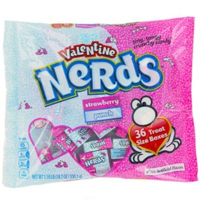 CLEARANCE - WONKA NERDS TREAT SIZE VDAY BAG