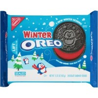 CLEARANCE - NABISCO OREO WINTER SANDWICH COOKIES