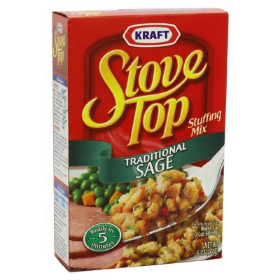 KRAFT STOVE TOP TRADITIONAL SAGE STUFFING