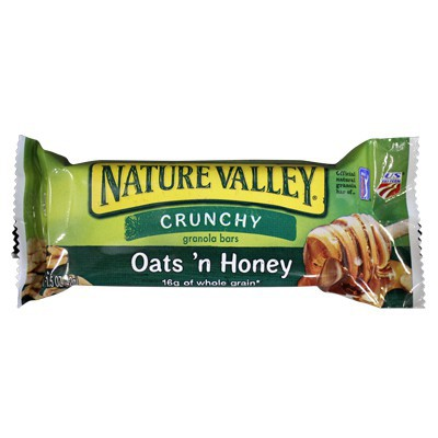 NATURE VALLEY CRUNCHY GRANOLA BARS - OATS' N HONEY