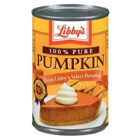 LIBBY'S PUMPKIN PIE FILLING 100% PURE