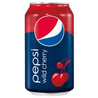 PEPSI WILD CHERRY SODA CEREZA