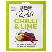 WILD WEST DELI CARNE ESSICCATA BEEF JERKY CHILI & LIME