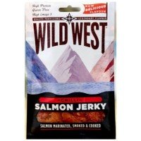WILD WEST SALMON JERKY CHILLI  CARNE SECA