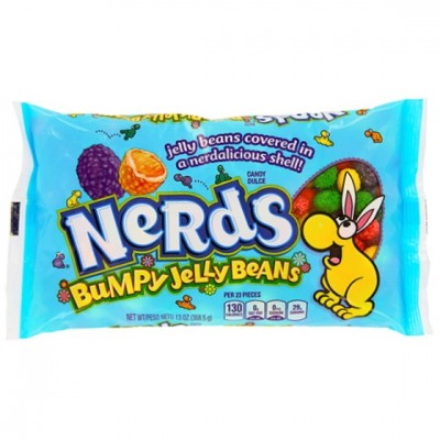 WONKA NERDS BUMPY JELLY BEANS CANDY