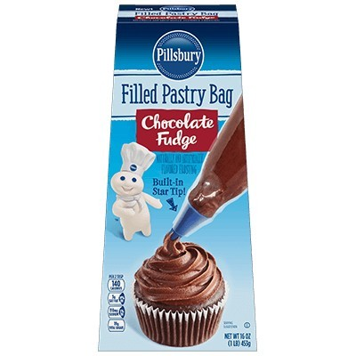 PILLSBURY PASTRY BAG CHOCOLATE FUDGE