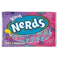 WONKA NERDS GRAPE STRAWBERRY LAY DOWN BAG