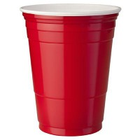 SOLO RED CUPS 20 GOBELETS ROUGES 16oz-50cl