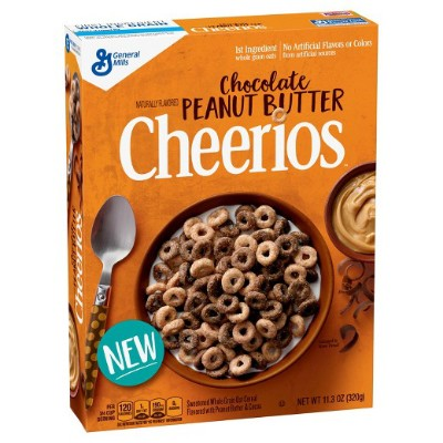 CLEARANCE - GENERAL MILLS CHEERIOS CHOCOLAT PEANUT BUTTER CEREAL