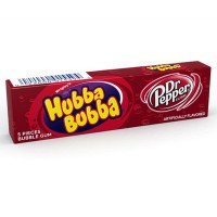 HUBBA BUBBA CHEWING GUMS DR PEPPER