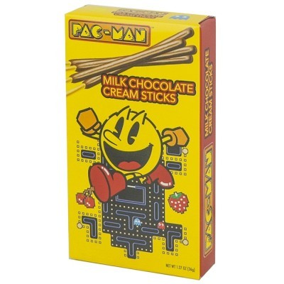 PAC MAN CHOCOLATE CREAM STICK