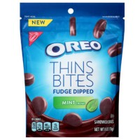 NABISCO OREO THINS BITES FUDGE MINT