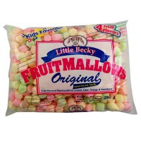 LITTLE BECKY MARSHMALLOWS FRUIT MINI